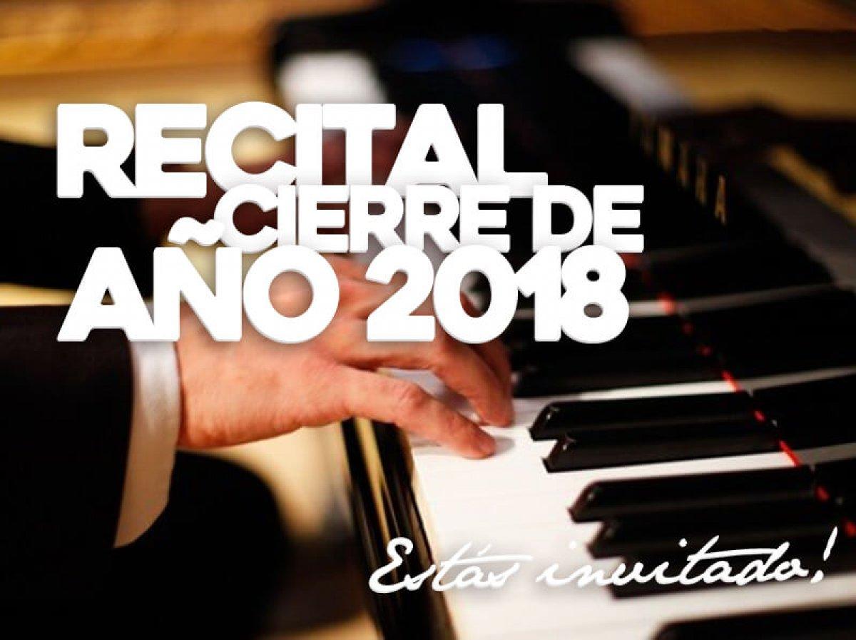Recital de cierre de año 2018