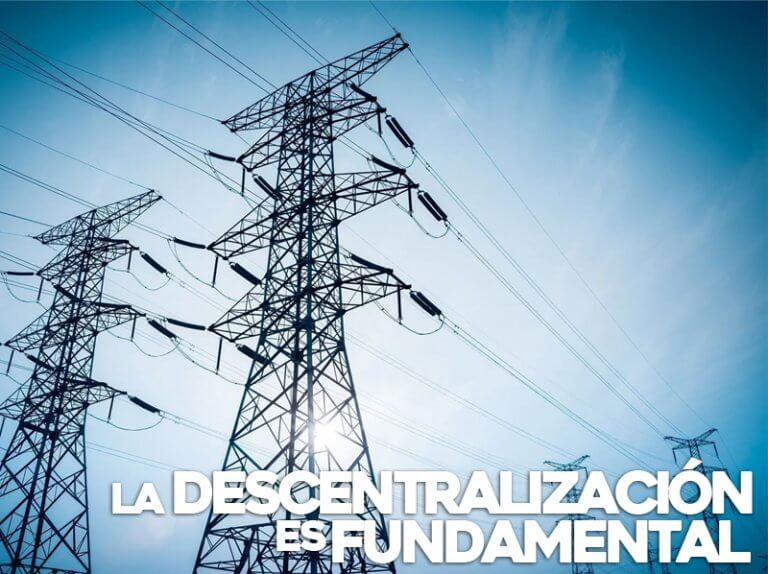 la descentralización es fundamental