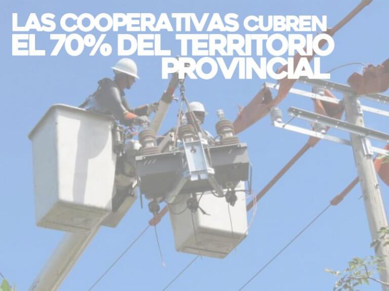 Cooperativas cubren el 70 por ciento