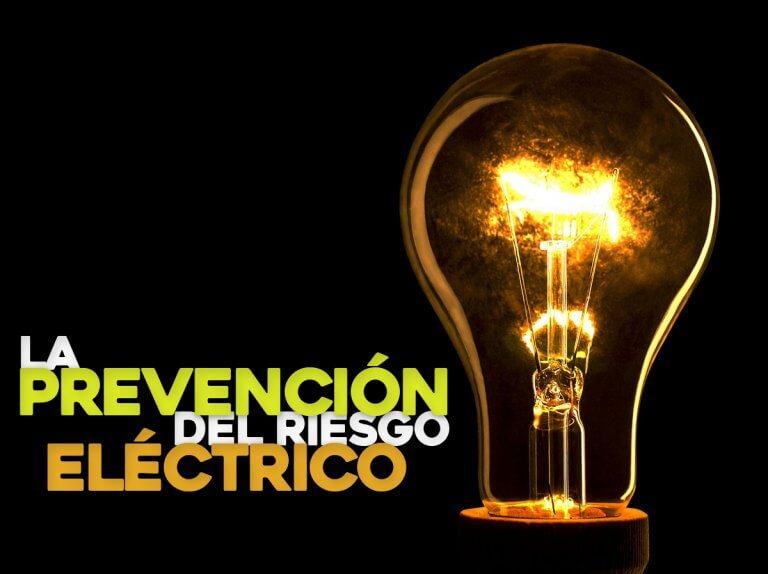 La prevención del riesgo eléctrico