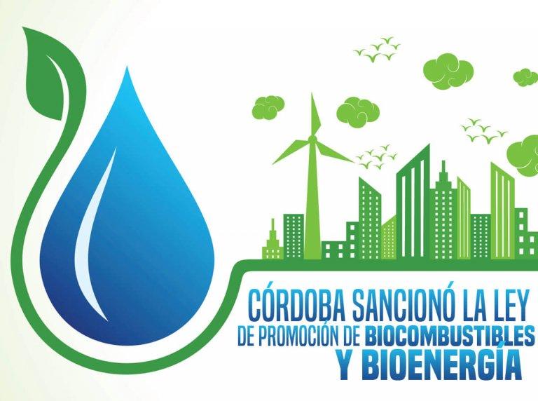 Córdoba sancionó la Ley de Promoción de Biocombustibles y Bioenergía